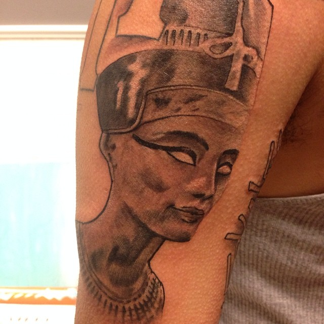 nefertiti bobby ink tattoos. Black Bedroom Furniture Sets. Home Design Ideas