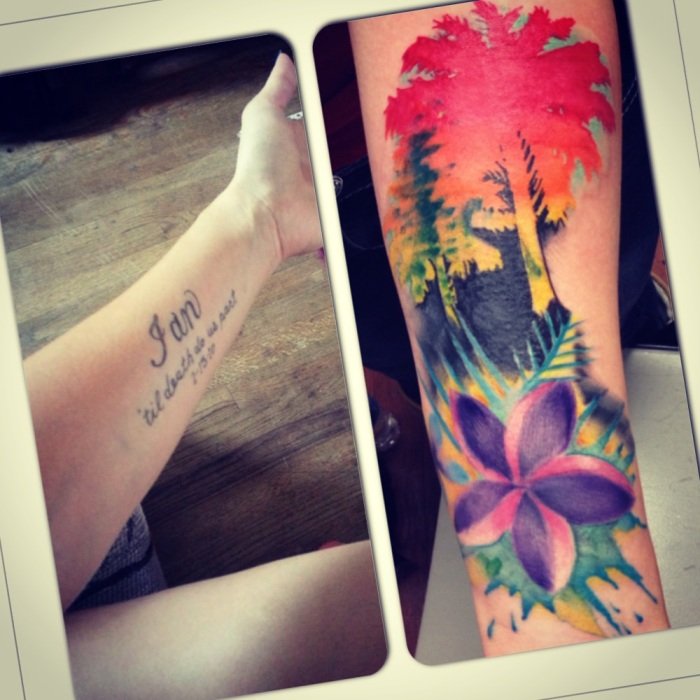 Tropical Cover Up